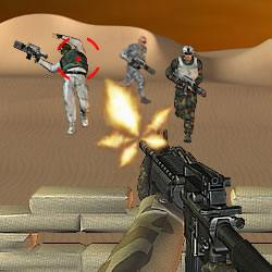 Desert Rifle Game
