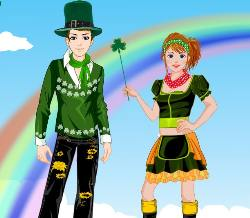 St Patrick's Day DressUp Game