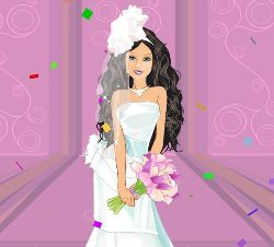 Share barbie wedding dress up with your friends