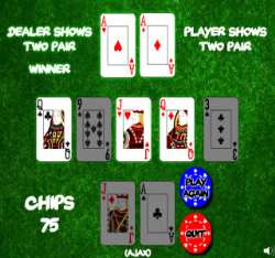 Texas Holdem Bonus Game