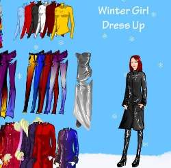 Winter Girl Dress Up Game