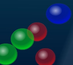 Color Bubble Touch Game