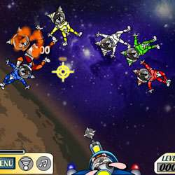 Ragdoll Space Shooter Game