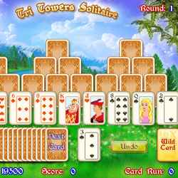 Tri Towers Solitaire Game