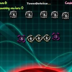 Vector Menace Tower Defense Game