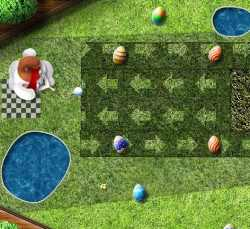Easter Golf Game