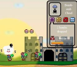 Super Mario Defence Game
