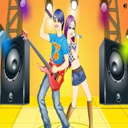 Hot Pop Singer Lover Game
