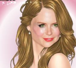 Nicole Kidman Makeover Game
