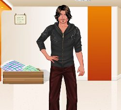 Johnny Depp Dressup Game