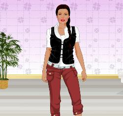 Angelina Jolie Dressup Game