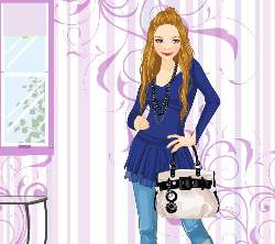 Katie Dress Up Game