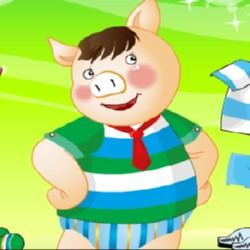 Cute Porky Pig Game