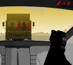 Vinnie's Rampage : Desert Road Game