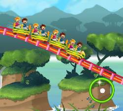 Rollercoaster Revolution 99 Tracks Game