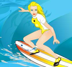 Cool Surfing Girl Game