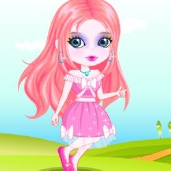 Cute Girl Make Up Game