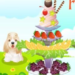 Beautiful Fruit Plates Game