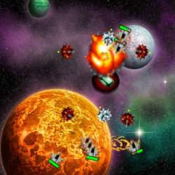 Space Invasion Tower Defense Game