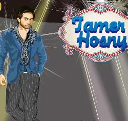 Arab Star Tamer Hosny Game