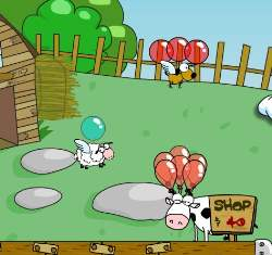 Barnyard Balloon Game