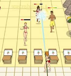 Sunbed Invaders Game