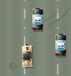 Freeway Fallguy Game