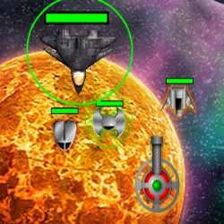 Lone Space Defender Game