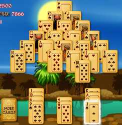 Pyramid Solitaire : Ancient Egypt Game