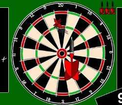 Pro 501 Darts Game