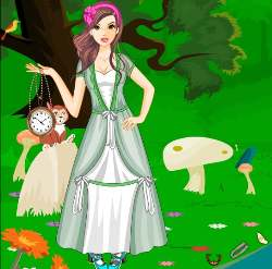 Alice in Wonderland - Rabbit Hole Game