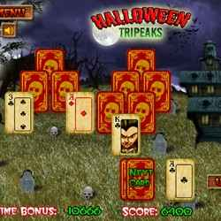 Halloween Tripeaks Game