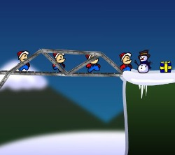 Cargo Bridge : Xmas level pack Game