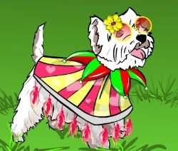 Little Dog Dress Up Game