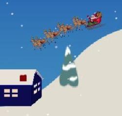 Santa's Landing Game