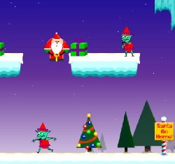 Santa Crusader Game