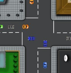 Traffic Madness Game