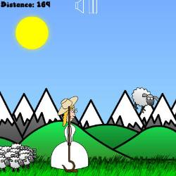 Little Bo Peep's Sheep Toss Game