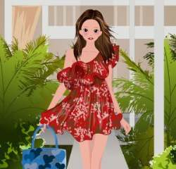 Flower Dress Up Game