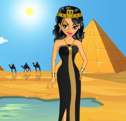 Egyptian Girl Dress Up Game
