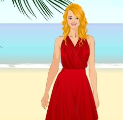Summer Dress Up Game