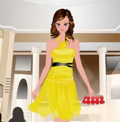 Model Dress Up Game