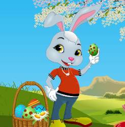 Easter Bunny Dress up Game