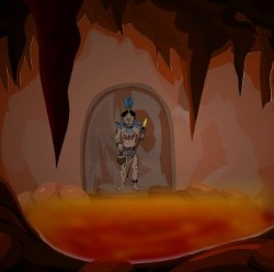 Mysterious Cave Escape Game