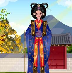 Korean Costume Dress Up Game