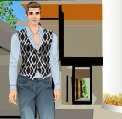 George Clooney Dress Up Game