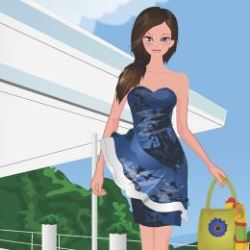 Spring Summer Dress Up Game