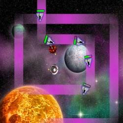 Space Invasion Tower Defense 2 Game