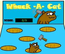 Whack A Cat Game