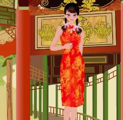 Chinese Costume Dress Up Game